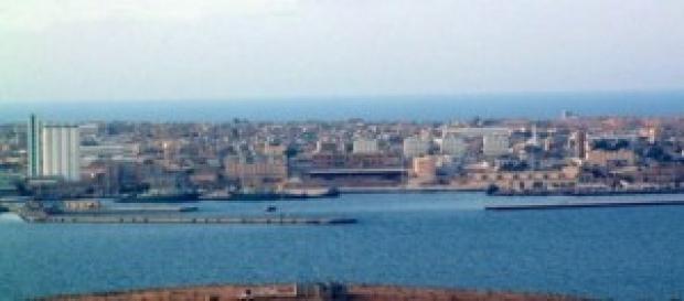 La città di Tobruk, dove era stato rapito Salviato