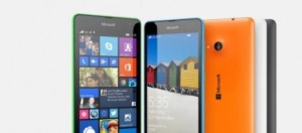 Lumia 535 el primer smartphone de Microsoft.