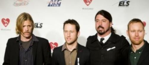 Los Foo Fighters en el 2009.