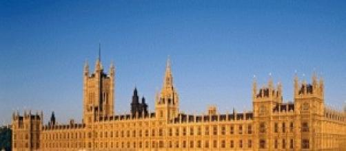 Westminster, sede del parlamento inglese
