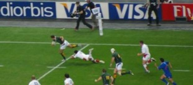 England rugby team vs S Africa