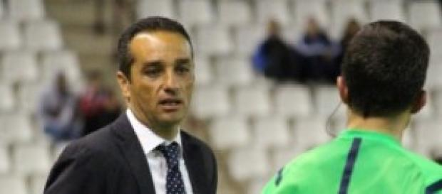 Entrenador del Recreativo.