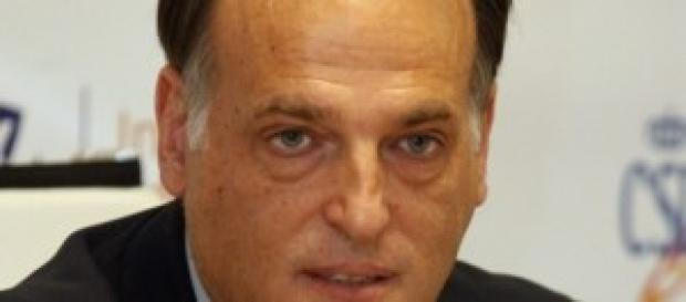 Javier Tebas, presidente de la LFP.