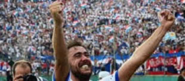 Recoba vince il campionato d'Uruguay
