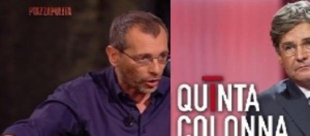 Stasera in tv 19/11/2014 talk show su Rete 4 e La7