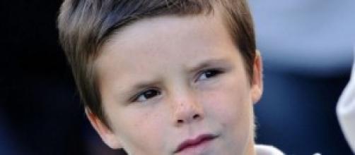 El pequeño Beckham y sus deseos de ser actor.