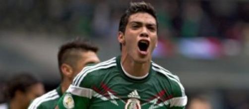 Jiménez aprovechó su oportunidad con dos goles