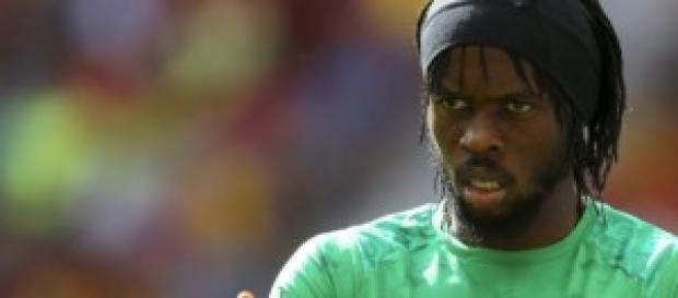 Gervinho con la maglia della Costa d'Avorio