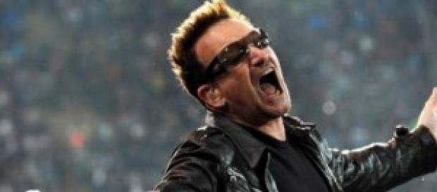 Una imagen del cantante Bono