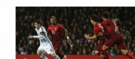 Messi esta vez no marcó con la albiceleste.