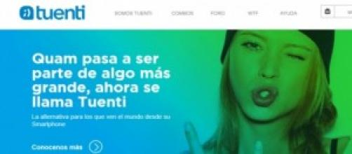Así es la web de Tuenti Móvil Argentina