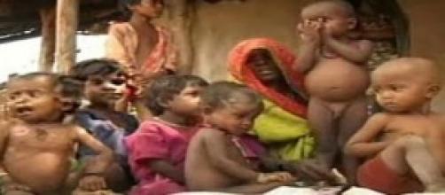 Fotografia da fome no mundo