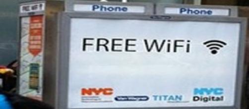 Wi-Fi gratis en cabinas telefónicas de Nueva York