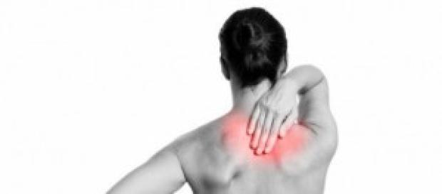 imagen sobre la zona de dolor