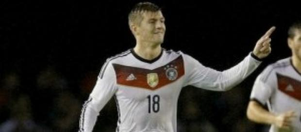 Kroos, autor del único gol del partido. Foto: ABC