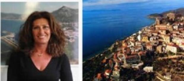 La vicesindaco di Castellabate, Luisa Maiuri