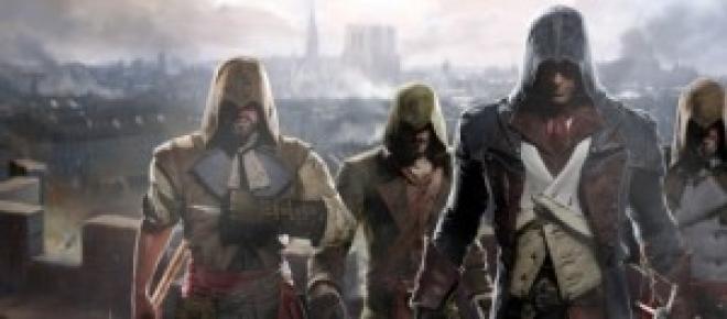 Los asesinos del Assassin´s Creed: Unity