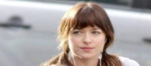 """Dakota Johnson se casa con el """"verdadero"""" Grey"""