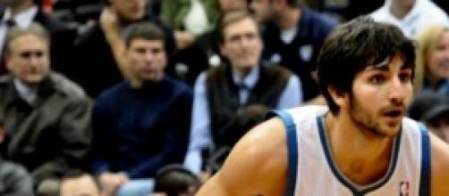 Ricky Rubio, base de los Minnesota Timberwolves.