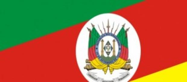 Bandeira ofiical do Estado do Rio Grande doSul