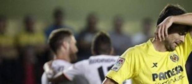 Chechu Dorado se lamenta tras los goles