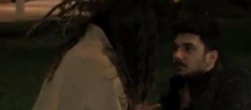 Andrea e Sharon nel video inedito