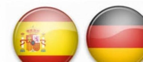 Escudos de España y Alemania