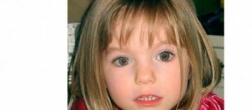 Madeleine McCann com 3 anos de idade, em 2007