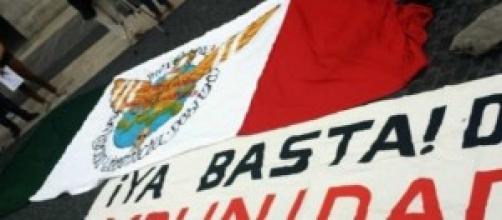 Messico, rabbia per gli studenti desaparecidos