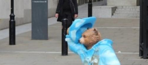 Paddington Bear movie in the UK