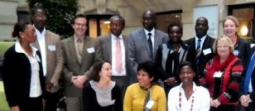 Paul KOKI NDOMBO et ses collaborateurs de l'UNAPSA