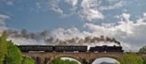 Bologna-Pracchia in locomotiva a vapoe