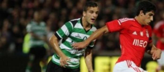 Gonçalo frente ao Covilhã para a Taça de Portugal.