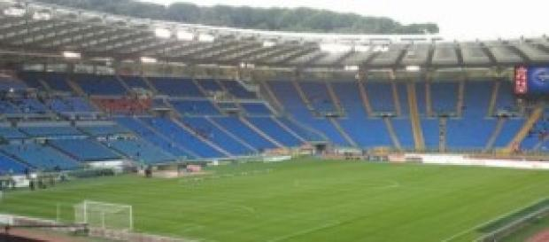 Lo stadio Olimpico di Roma