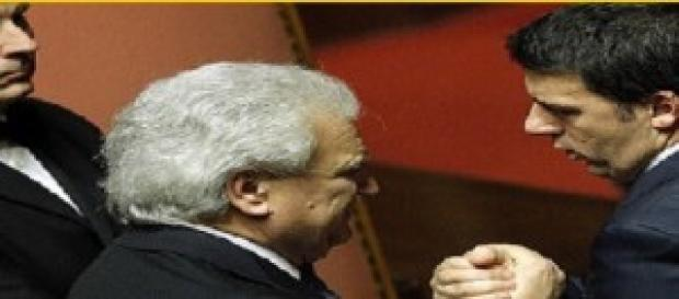Matteo Renzi e Denis Verdini