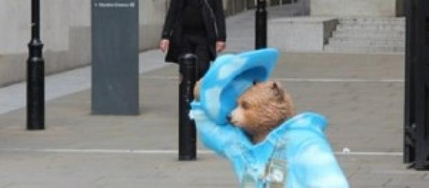 Paddington Bear movie in the UK