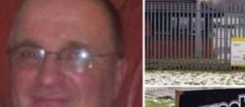 Alan Catterall l'uomo deceduto nel forno