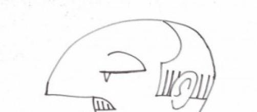 """Caricatura del """"Caudillo""""."""