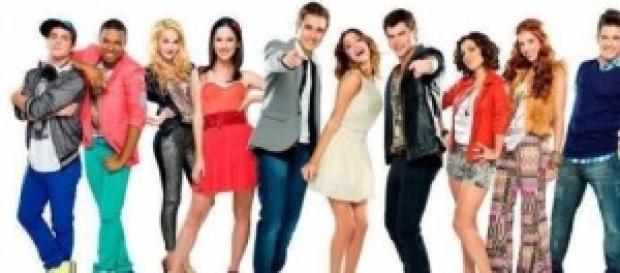 """Il cast di """"Violetta"""", serie di Disney Channel"""