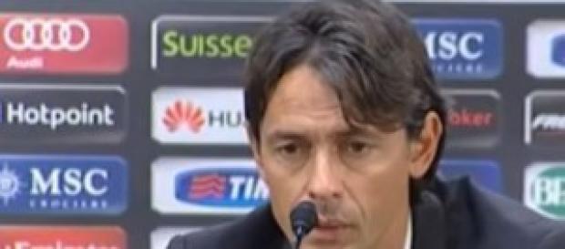 Pippo Inzaghi, tecnico del Milan