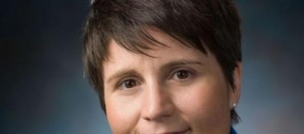 Samantha Cristoforetti, astronauta donna italiana.