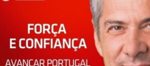 Cartaz de Sócrates da campanha eleitoral de 2009