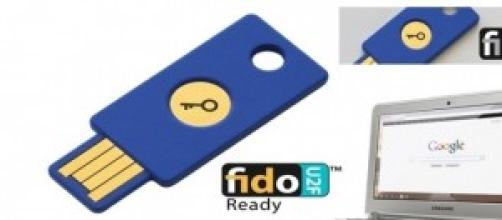 FIDO Alliance U2F Security Key Google