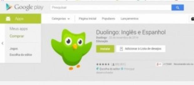 Duolingo é um dos apps mais usados