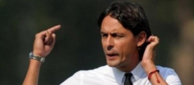 Filippo Inzaghi, primo derby da allenatore