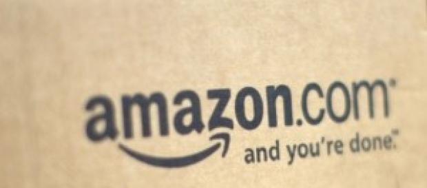 Una tipica confezione di Amazon