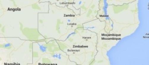 Collocazione geografica del Madagascar