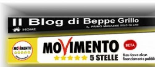 Il blog di Grillo e il portale M5S