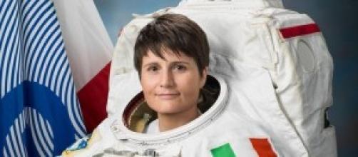 L'astronauta Samantha Cristoforetti