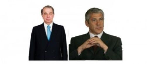 Ricardo Salgado e José Sócrates